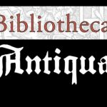 Konference Bibliotheca Antiqua